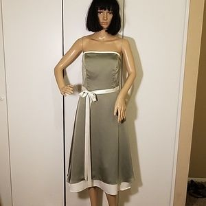 💋Gorgeous💕 Alfred Sung Olive Green Dress